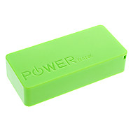 3000mAh High Quality External Battery for Mobile Device Green