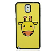 Yellow deer Pattern Hard Case for Samsung Galaxy Note 3 N9000