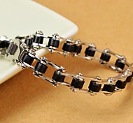 Classic 22cm Men's   Stainless Steel Motorcycle Chain Chain and Link Bracelets