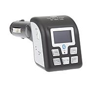 """1,0"""" ЖК FM приемник/MP3 плеер A2DP автомобильный с функциями Bluetooth, Caller ID (SD/MMC/USB/2.5mm)"""