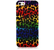 Colorful Leopard Pattern Silicone Soft Case for iPhone5/5S