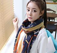 Женская Kerean Панель полосой Вуаль шарф