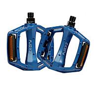 FJQXZ Aluminum Alloy CNC Blue Anti-slip Pedal