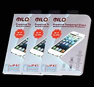MILO CM002 seconda generazione di alta qualità Premium vetro temperato Screen Protector per iPhone 4/4S (3 PCS)