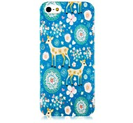 Fawn Pattern Silicone Soft Case for iPhone4/4S
