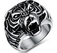 mode tigre anneaux des hommes d'acier inoxydable (1 pc)