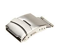 Unisex 24mm Edelstahl-Uhr-Buckle