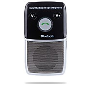 На солнечных батареях для беспроводных Руки Bluetooth Бесплатный автомобильный комплект громкой связи для iPhone HTC Samsung