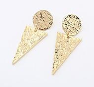 European and American Fashion Original Inverted Triangle Earrings