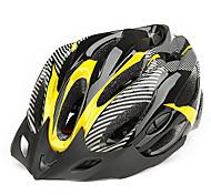 CoolChange 21 Vents EPS Giallo Ciclismo integralmente modellata Helmet