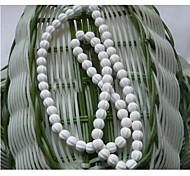 Cuidando da Saúde (germanite) Colar de Poder Branco Gem (1 Pc)