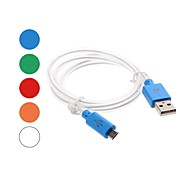 Lighting to Micro USB Cable for Samsung /HTC/Moto/Nokia/Sony/LG(Micro USB Port)