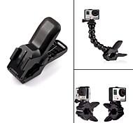 G-254 Placa de liberación rápida Abrazadera montaje flexible para GoPro Hero 3 + / 3/2/1