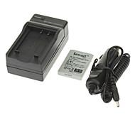 ismartdigi 700mAh Kamera Akku + Ladegerät für PREMIER SL4 SL5 SL6 SL43SL53 SL56 SL63 Oly Li-80B