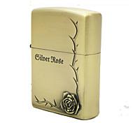 regalo di giorno del padre personalizzato inciso olio di rosa in bronzo modello più leggero