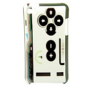 Game Controllers Pattern Back Cover Hard Case for iPod Touch4