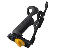Universal Adjustable Bike Bicycle Plastic Water Bottle Holder - Black