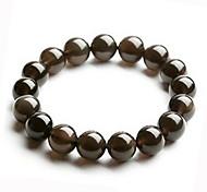 Salute Cura Vintage Black Naturel cristallo ologramma Bracelet (1 Pc)