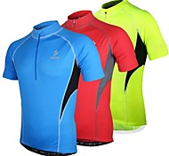 Arsuxeo Men's Cycling Jersey Short Sleeve Breathable+Quick-Drying