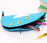 Semplice caso di disegno penna di colore solido (colore casuale)