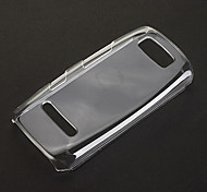 Pure Pattern Transparent Plastic Hard Back Case Cover for Nokia Asha 305