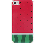 The Pulp of Watermelon Pattern Epoxy Hard Case for iPhone 4/4S
