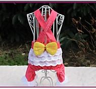 Cani Pantalone - Estate Rosa - di Cotone - XS / M / XL / S / L