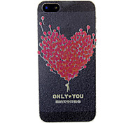 Love Hear Made of Balloon Pattern Back Case for iPhone 5/5S