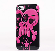 One-Eyed Skull Pattern ABS Back Case for iPhone 4/4S
