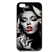 Elonbo J2E Sexy Marilyn Monroe Case Cover for iPhone 4/4S