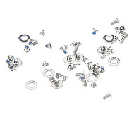Silver Repairing Parts Metal Screws Set for iPhone 4/4S