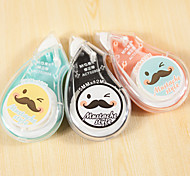 5MMx12M Mustache Style Correction Tape(Random Color)