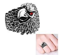 Bague alliage de mode Silver Eagle de style femmes