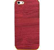 Wood Grain modello posteriore Case for iPhone 5/5S (colori assortiti)