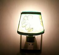 10W Green Flower Cloth LED Night Light(AC110-240V)