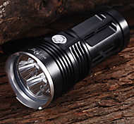 Bike Light Bike Lights / Front Bike Light Waterproof 4000 Lumens Battery Cree XM-L2 T6 Black