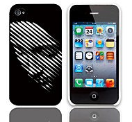 Confession Entwurfs-harter Fall mit 3-Pack-Display-Schutzfolien für das iPhone 4/4S