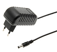 LD-010 EU Plug Power Adapter for Security Alarm (Black, 100~240V)