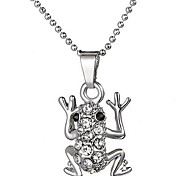Fashion  Alloy Frog Pendant Necklace