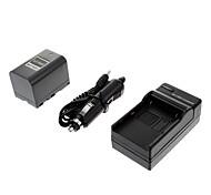 ismartdigi-Samsung SB-L220 2700mah,7.4V Camera Battery+Car charger for SAMSUNG SC-D590 SC-D67 SC-D71