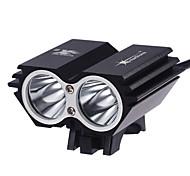 Luci Torce frontali LED 2000 Lumens 3 Modo Cree XM-T6 L2 18650 Impermeabili / Ricaricabile / Ultraleggero / Compatta / Taglia piccola