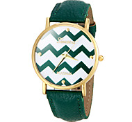 Women's Watch Fashion Wave Pattern Cool Watches Unique Watches