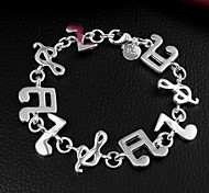 Mother's Day Gift Hot Sale Silver Plated Bracelet