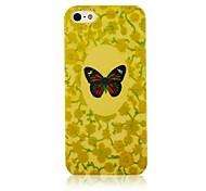 Modello di farfalla Custodia morbida in silicone per iPhone4/4S