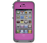 Airtight Tough Protective 2m Underwater Waterproof Plastic Case for iPhone 4/4S (Assorted Colors)