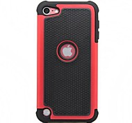 2-in-1 Silicone & Plastic Protective Case for iPod Touch 5 (Assorted Colors)
