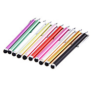 2 Pieces Packed Clip on Capacitive Stylus Touch Pen for iPad and Others (Random Color)