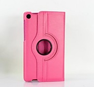 PU Leather Lichee Pattern Protective Case with Stand for Google Nexus 7 Generation 2 (Assortec Colors)