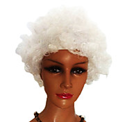 Black Afro Wig Fans Bulkness Cosplay Christmas Halloween Wig White Wig 1pc/lot