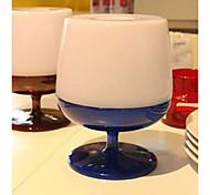Fashion Creative Red Wine Glass Design Paper Holder(Random Color)